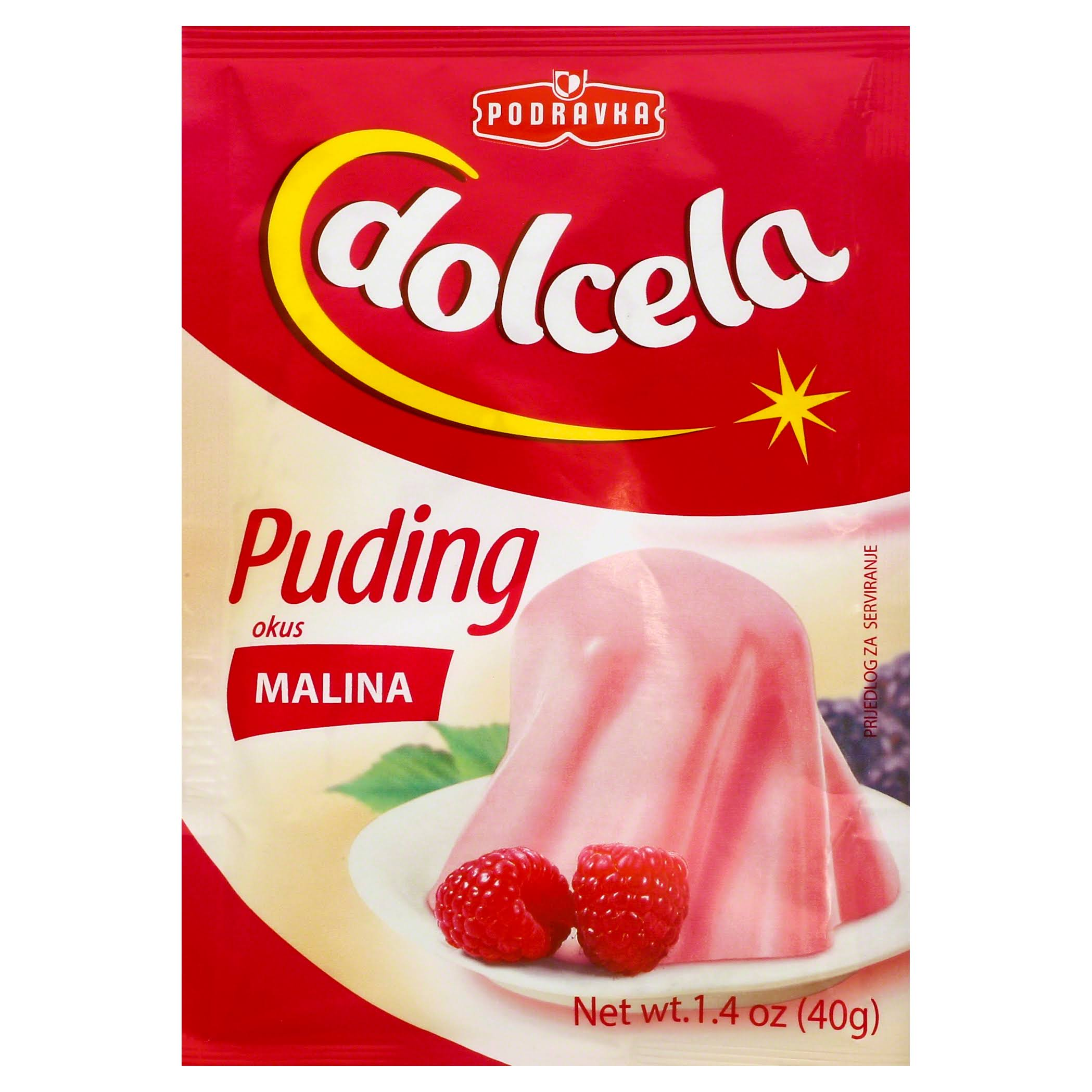 Podravka Pudding - Raspberry, 40g