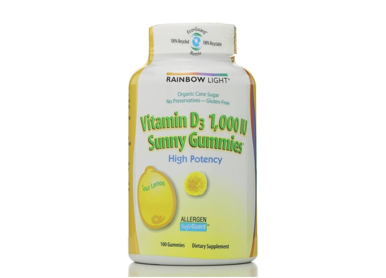 Rainbow Light Vitamin D3 Sunny Gummies - 1,000IU