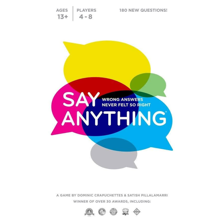 North Star Games Say Anything 10th Anniversary Board Game