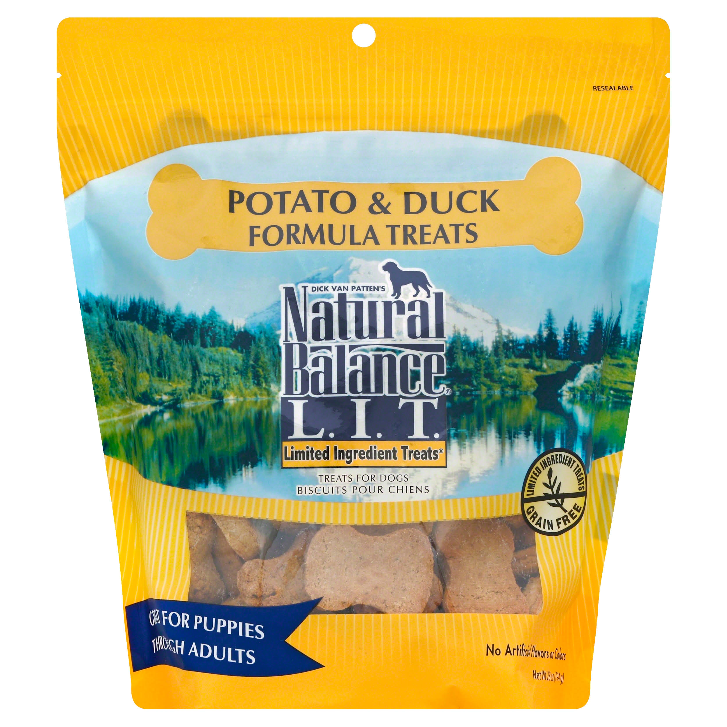 Natural Balance Dog Treat - Duck and Potato Recipe, 28oz