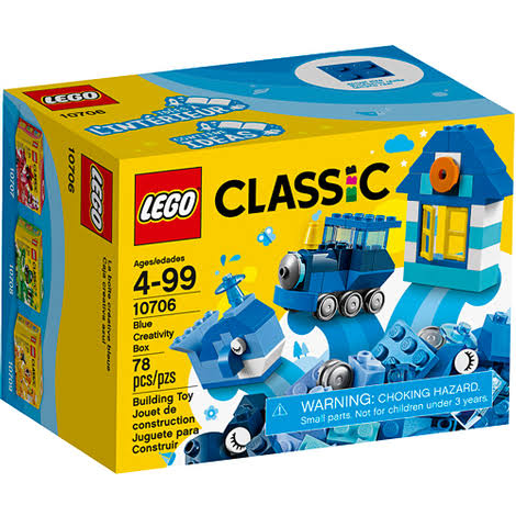 Lego Classic Blue Creativity Box Building Kit