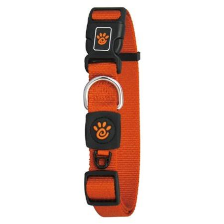 Doco DCSN1072-08L 6 ft. Signature Nylon Leash Dog Collar Orange - Large
