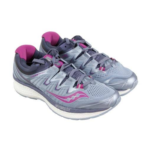 Saucony Triumph ISO 4 (Fog/Grey/Purple) Women's Running Shoes