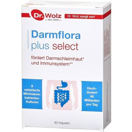 Dr Woltz Darmflora Plus Select Capsules - 80 Pack