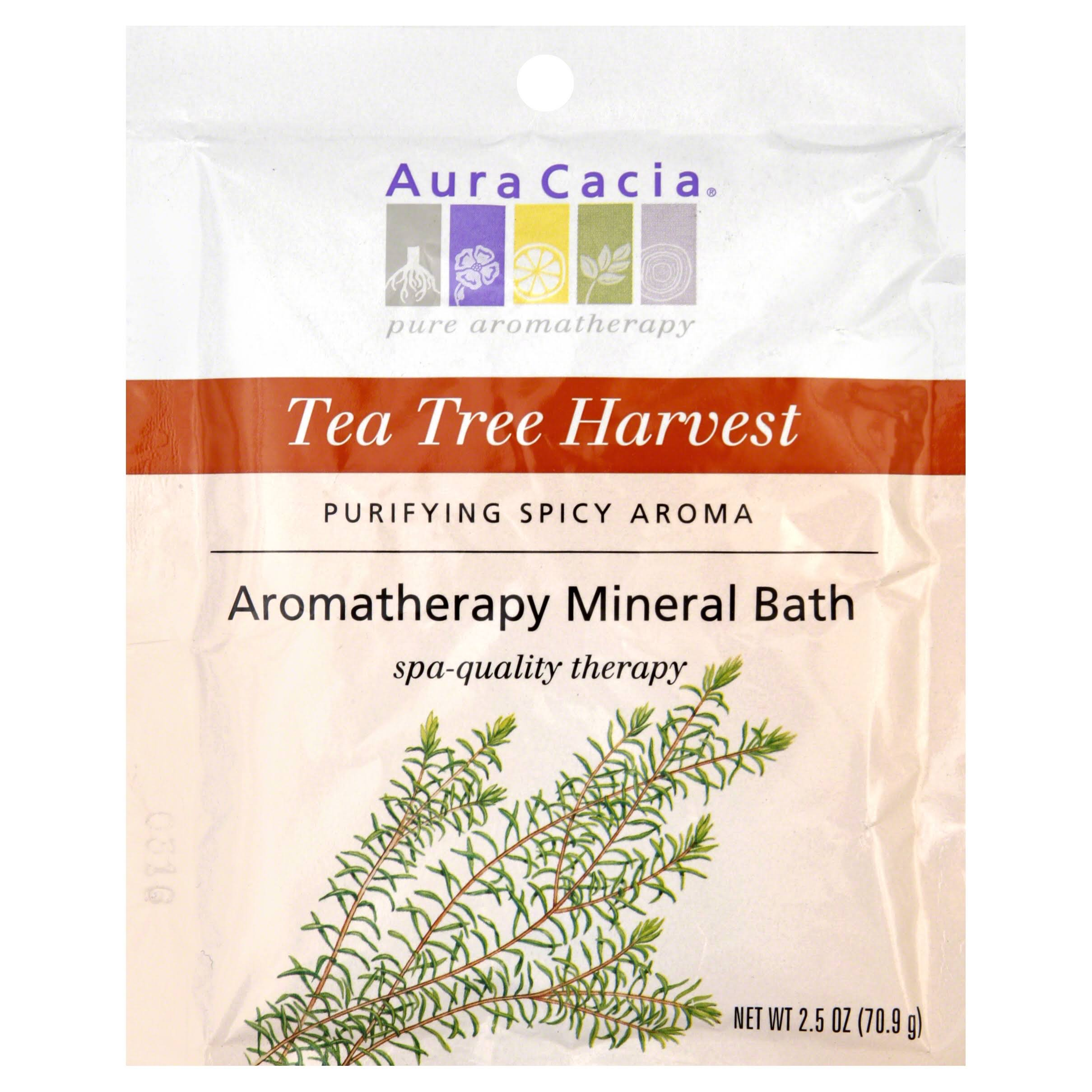 Aura Cacia Aromatherapy Mineral Bath - Tea Tree Harvest, 2.5oz