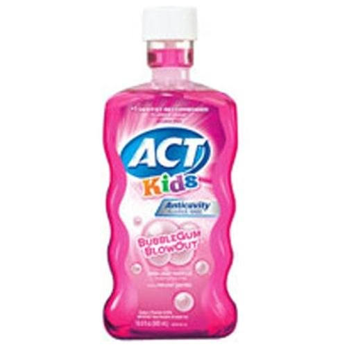 ACT Kids Anticavity Fluoride Rinse - Bubble Gum Blowout