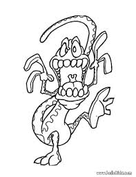Scary Halloween Coloring Pages Online by Monster Coloring Pages 2017 Z31 Coloring Page