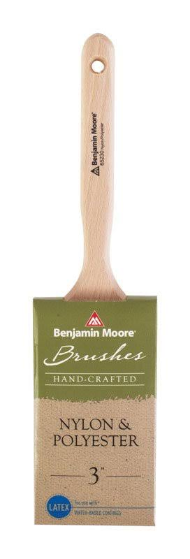 Benjamin Moore Nylon & Polyester Flat Sash Brush - 3 in