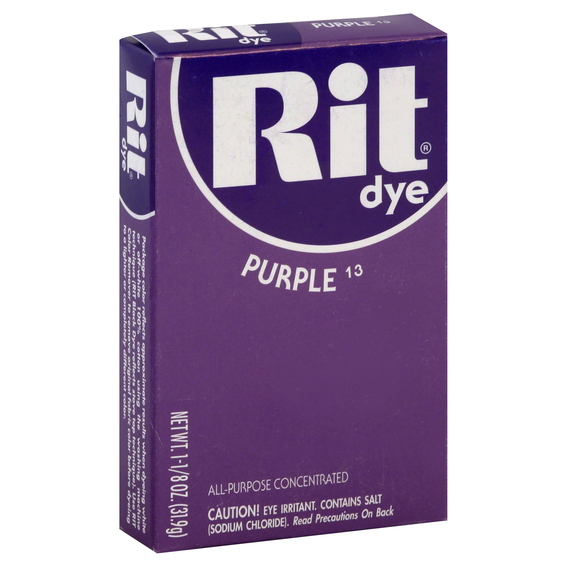 Rit Dye Powder - Purple, 1 1/8oz