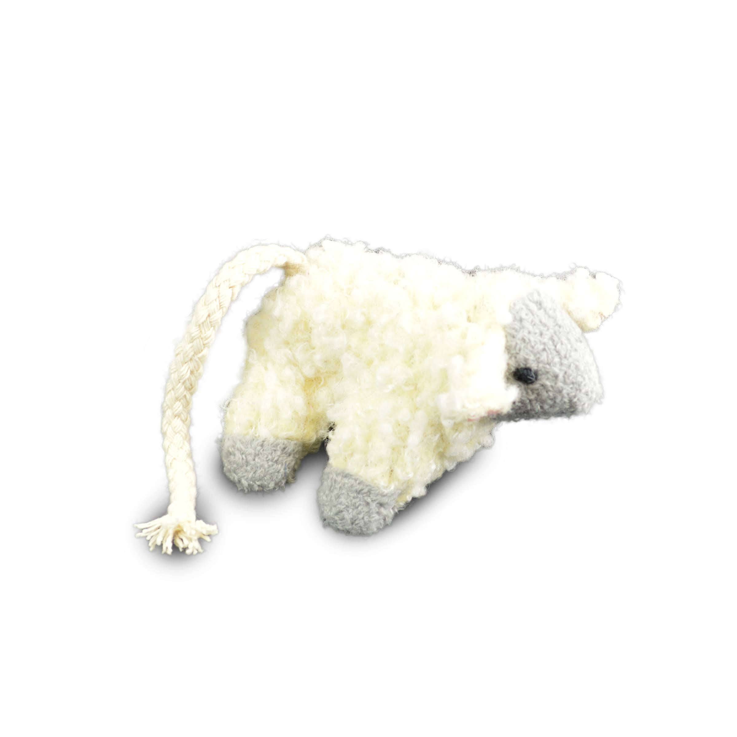 OPCO Ourpets Play-N-Squeak Counting Sheep Cat Toy