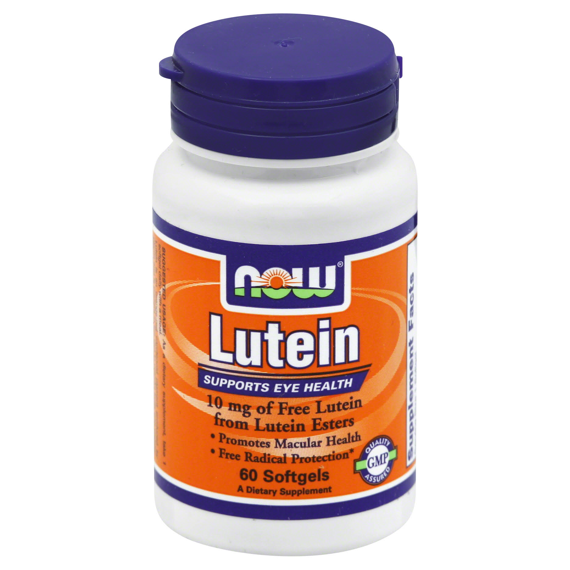 Now Foods Lutein Dietary Supplement - 60 Softgels