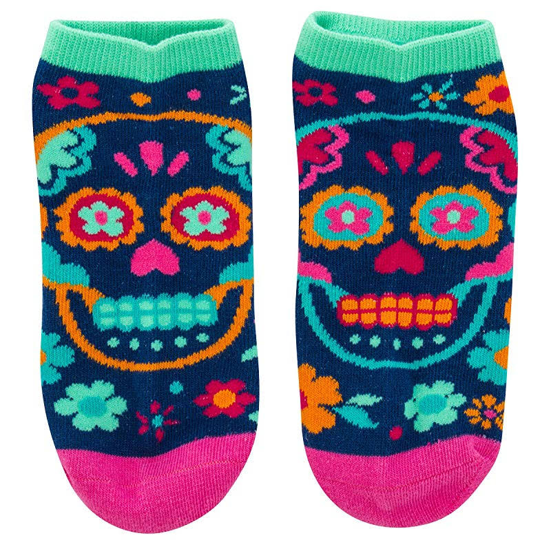 Karma Gifts Ankle Socks, Skull