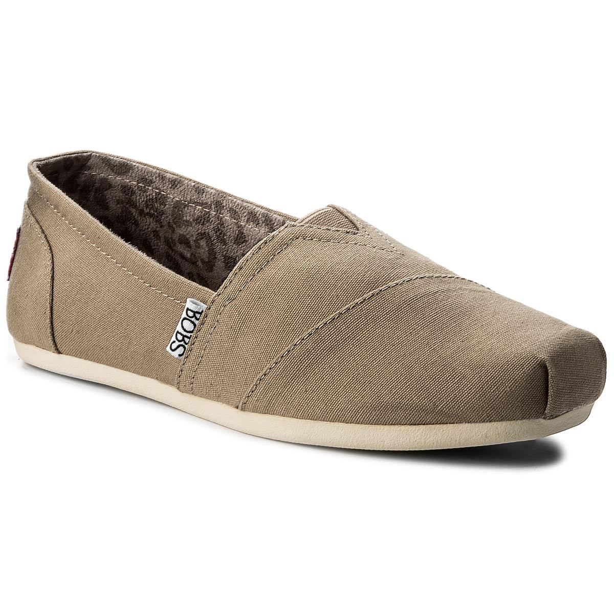 Skechers Women's Bobs Plush Peace and Love, Taupe