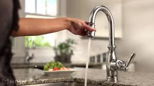 Moen Hands Free Lavatory Faucet by Moen Motionsense Faucet Low Flow Touch Free 169031 177565 7185srs