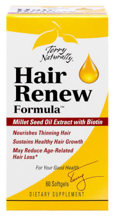 Terry Naturally Hair Renew Formula Supplement - 60 Softgels
