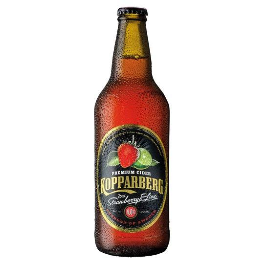 Kopparberg Premium Cider - Strawberry & Lime