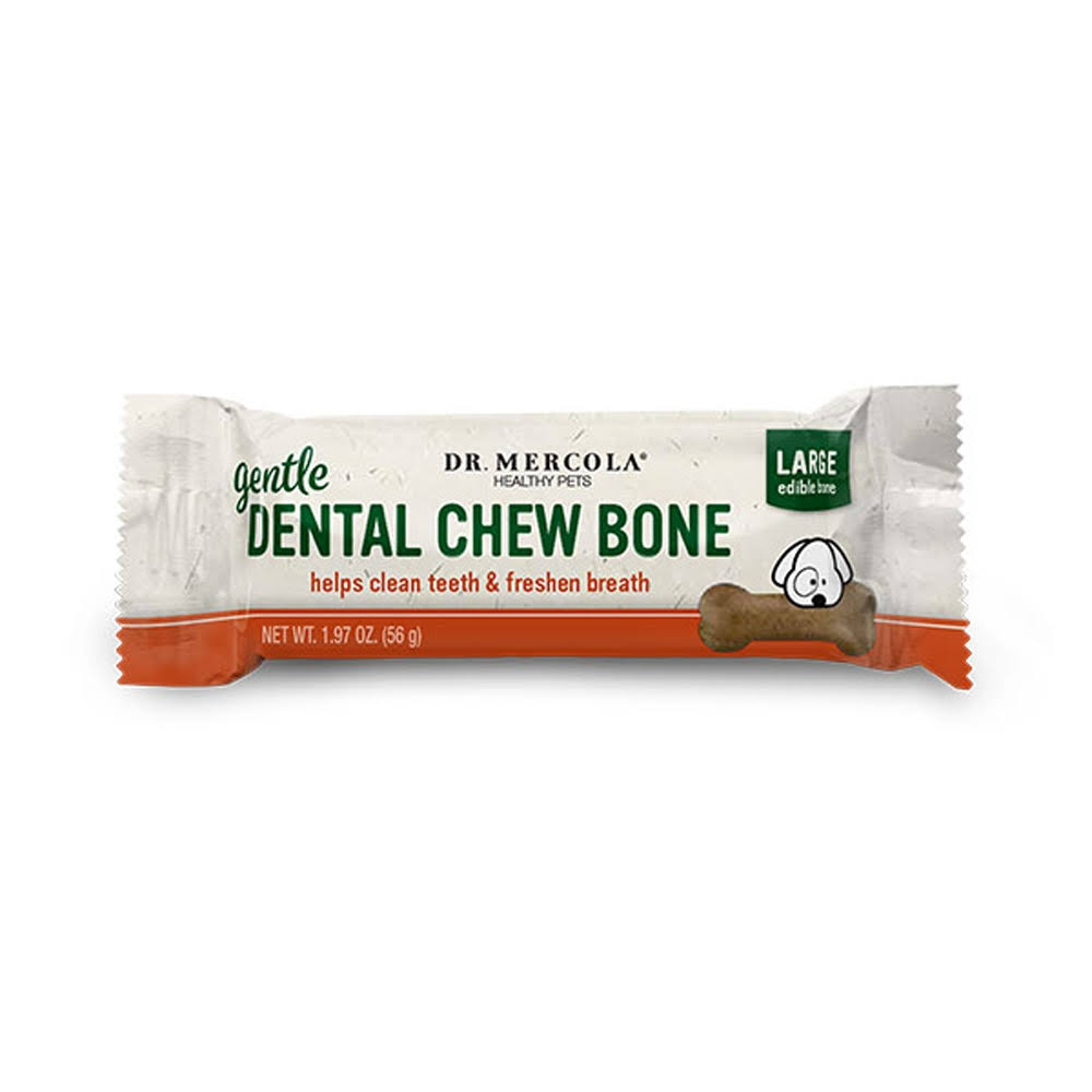 Dr Mercola Dental Bone for Dogs Gentle Large