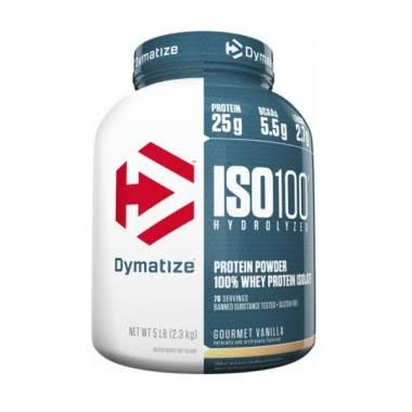 Dymatize Nutrition ISO100 Whey Protein Isolate - Gourmet Vanilla