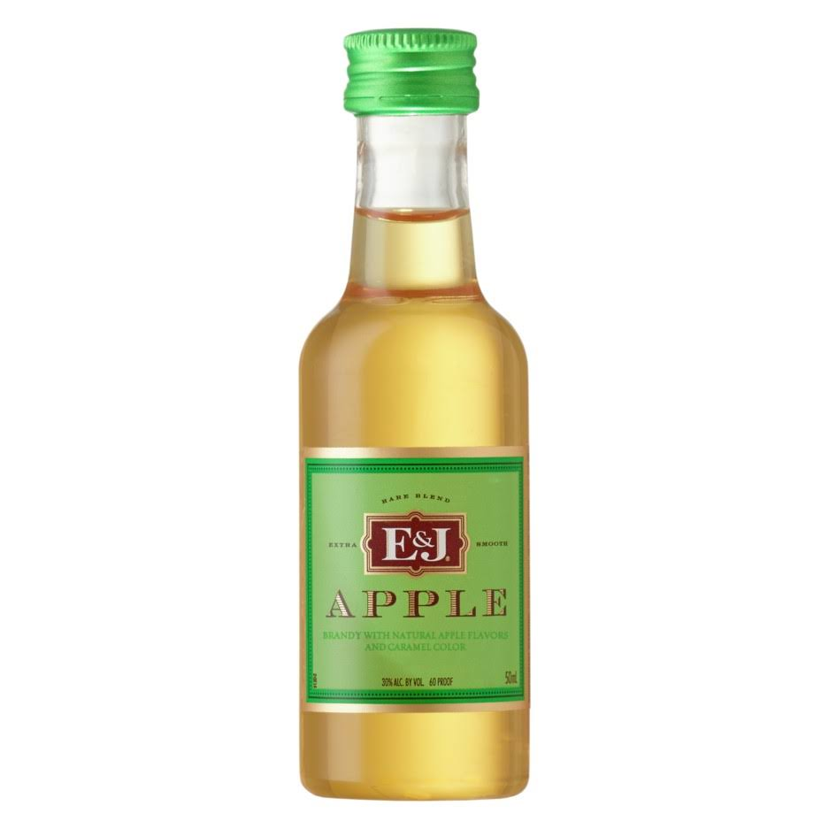 E&J Apple Brandy with Apple Liqueur - 50 ml