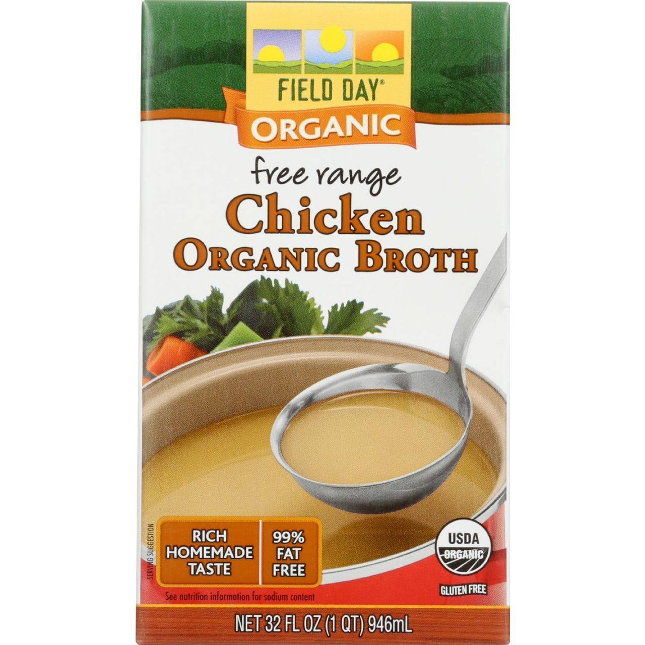 Field Day Organic Chicken Broth - 32oz