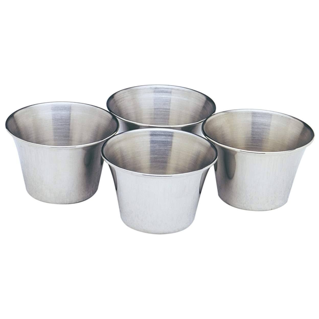 Norpro 208 Stainless Steel Sauce Cups - 4ct
