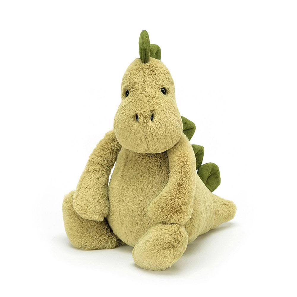 Jellycat Bashful Plush Toy - Dinosaur, Medium, 31cm