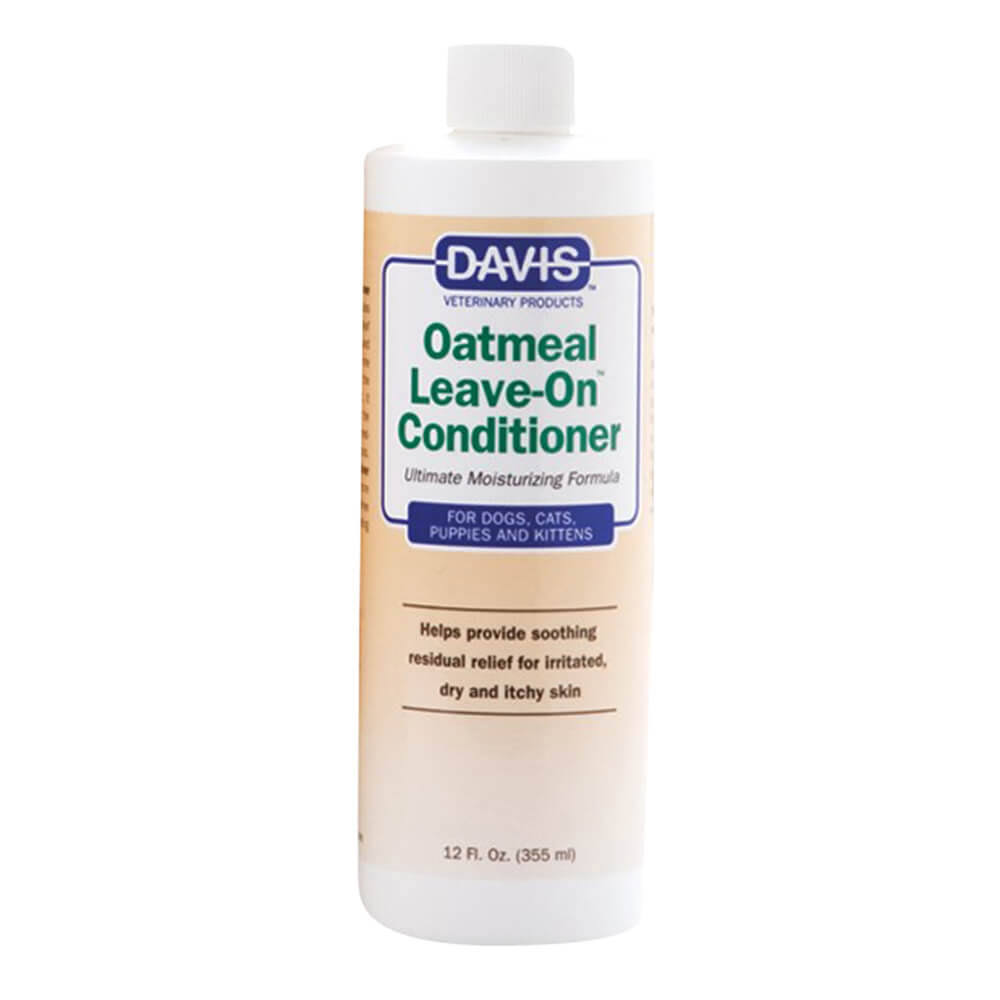 Davis Oatmeal Leave On Dog and Cat Conditioner - 12oz