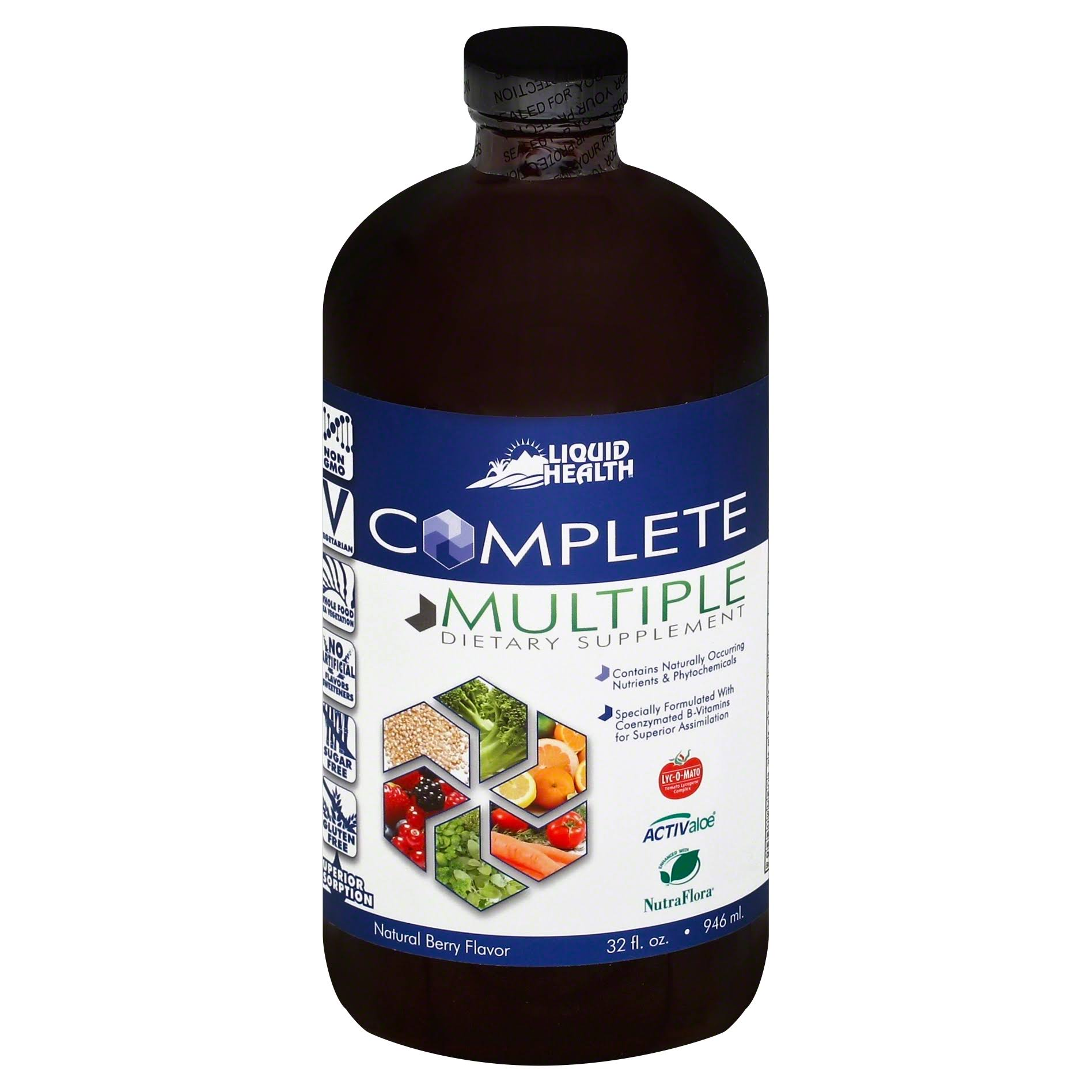 Liquid Health Products Complete Multiple Body Immune System Care Supplement - 32oz