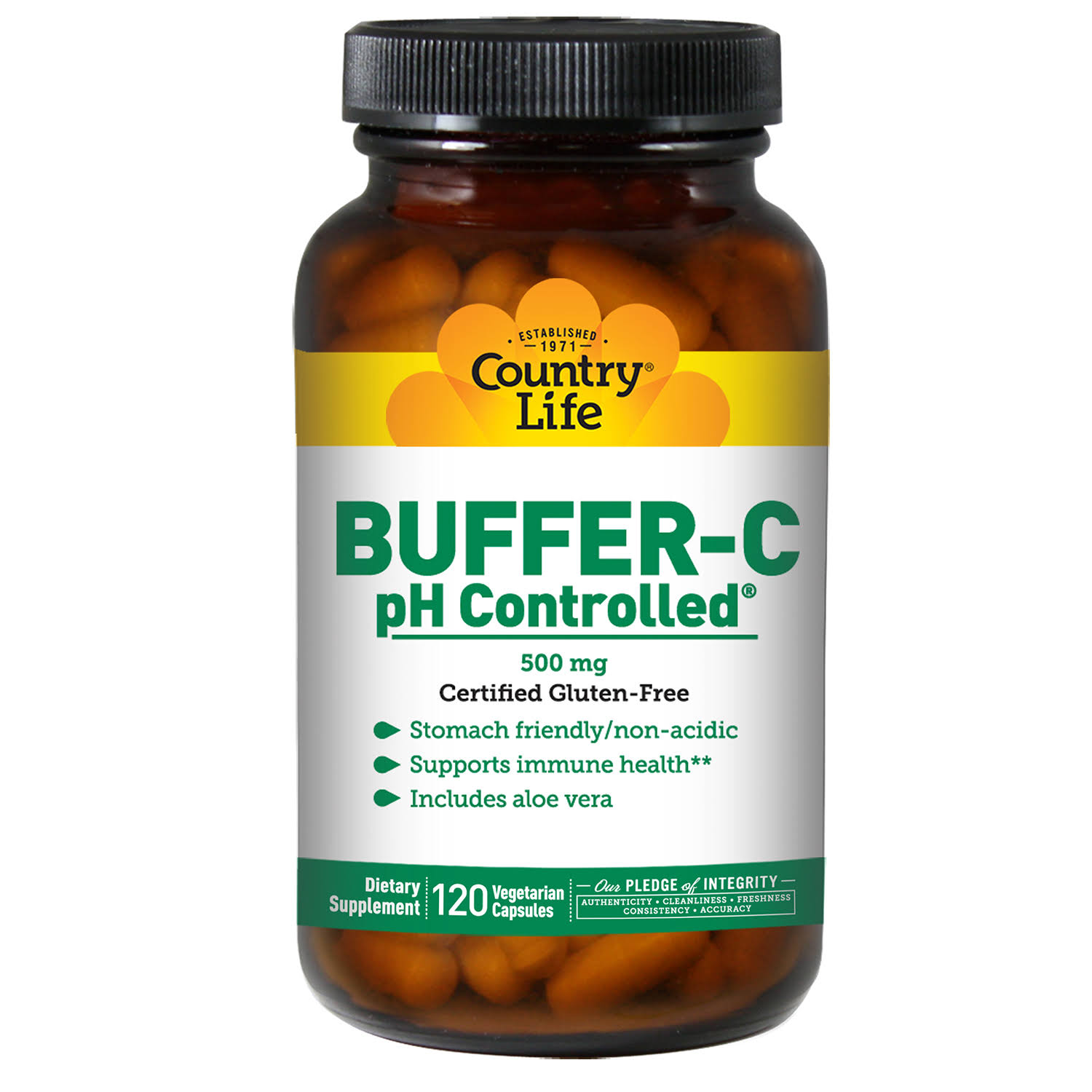 Buffer C pH Controlled - 500mg,120 Count