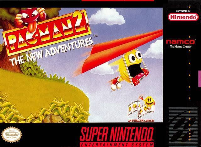 Pac Man 2: The New Adventures [Super Nintendo]