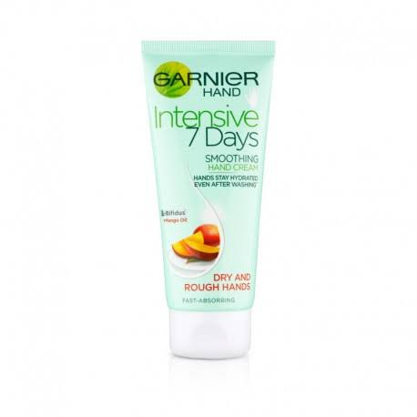 Garnier Intensive 7 Days Mango Hand Cream - for Dry Sensitive Skin, 100ml