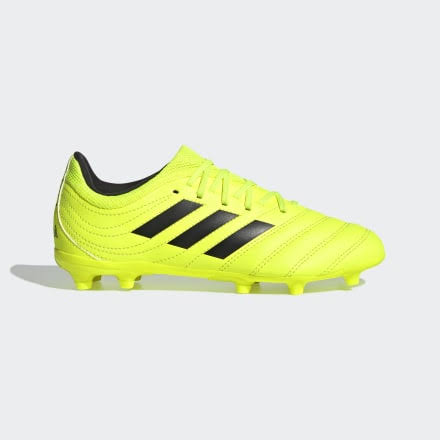 Adidas Copa 19.3 FG Junior Firm Ground Soccer Cleats Yellow-Black - 6
