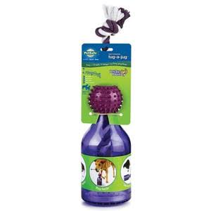 PetSafe Busy Buddy Tug-a-jug Meal Dispensing Dog Toy - Purple, Medium, Large