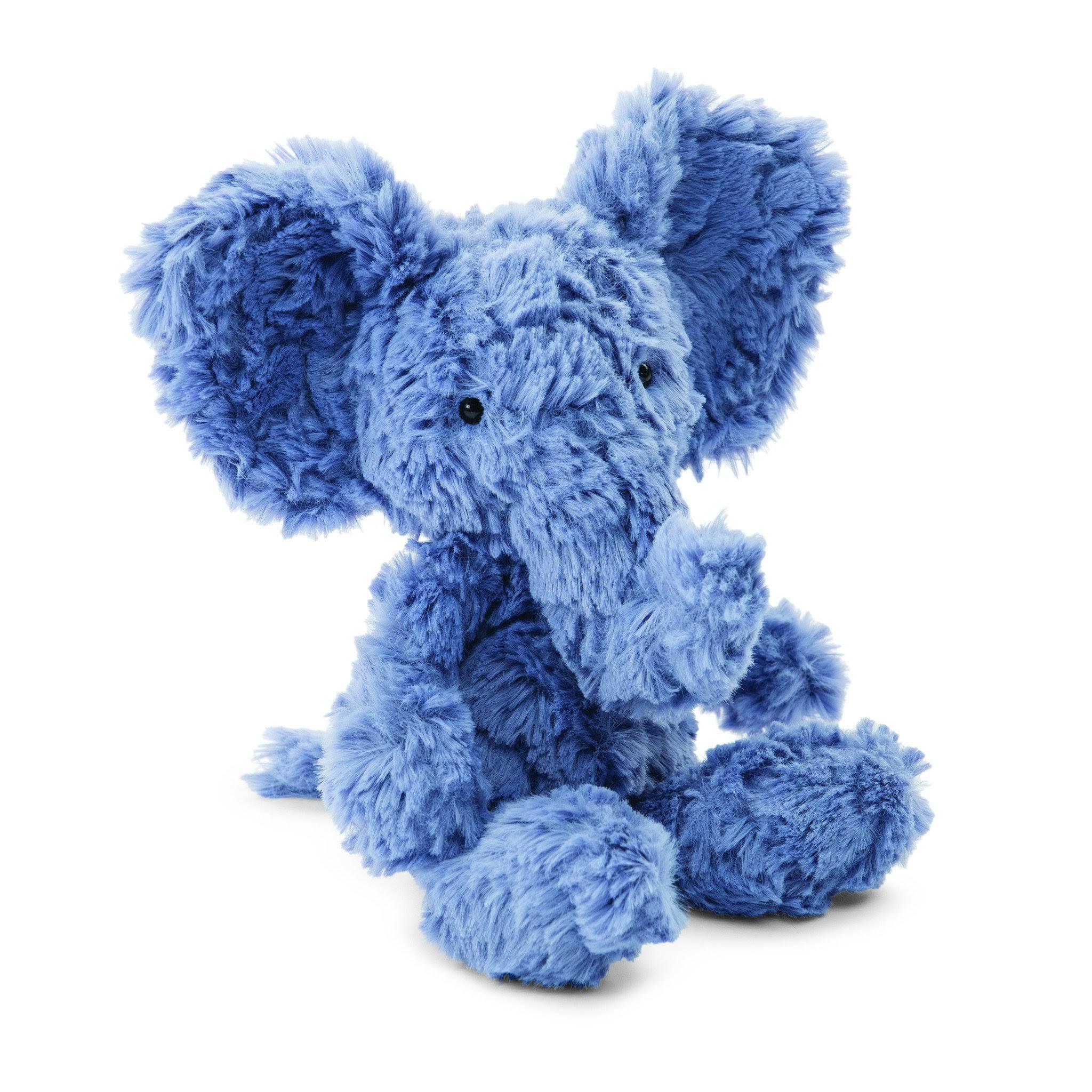Jellycat Squiggle Blue Elephant