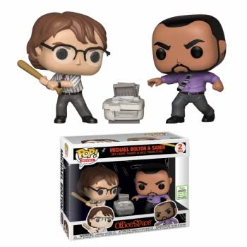 Funko Pop! Office Space Vinyl Action Figure - Michael Bolton & Samir