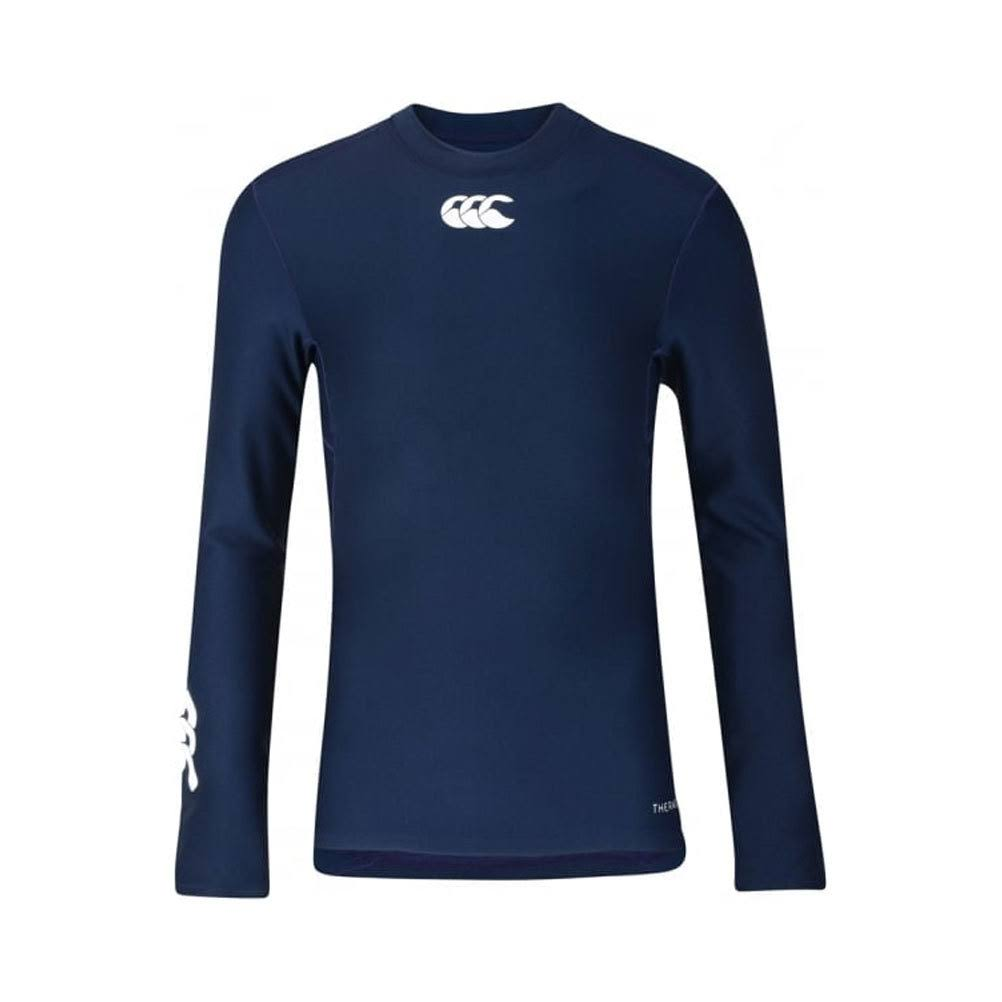 Canterbury Junior Thermoreg Long Sleeve Top - Navy, Size 8