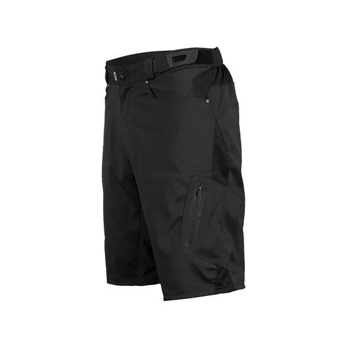 Zoic Men's Ether Cycling Shorts - Black, XLarge