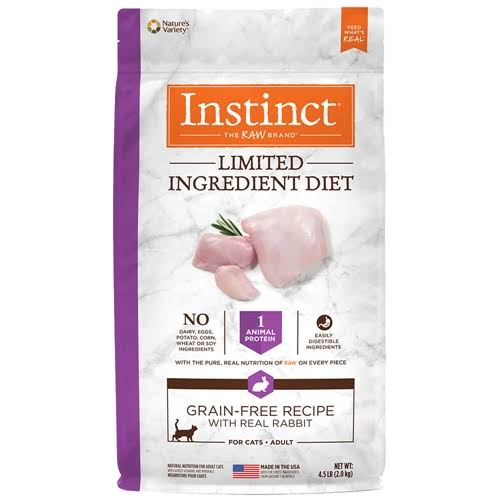 Instinct Limited Ingredient Diet Grain Free Recipe with Real Rabbit