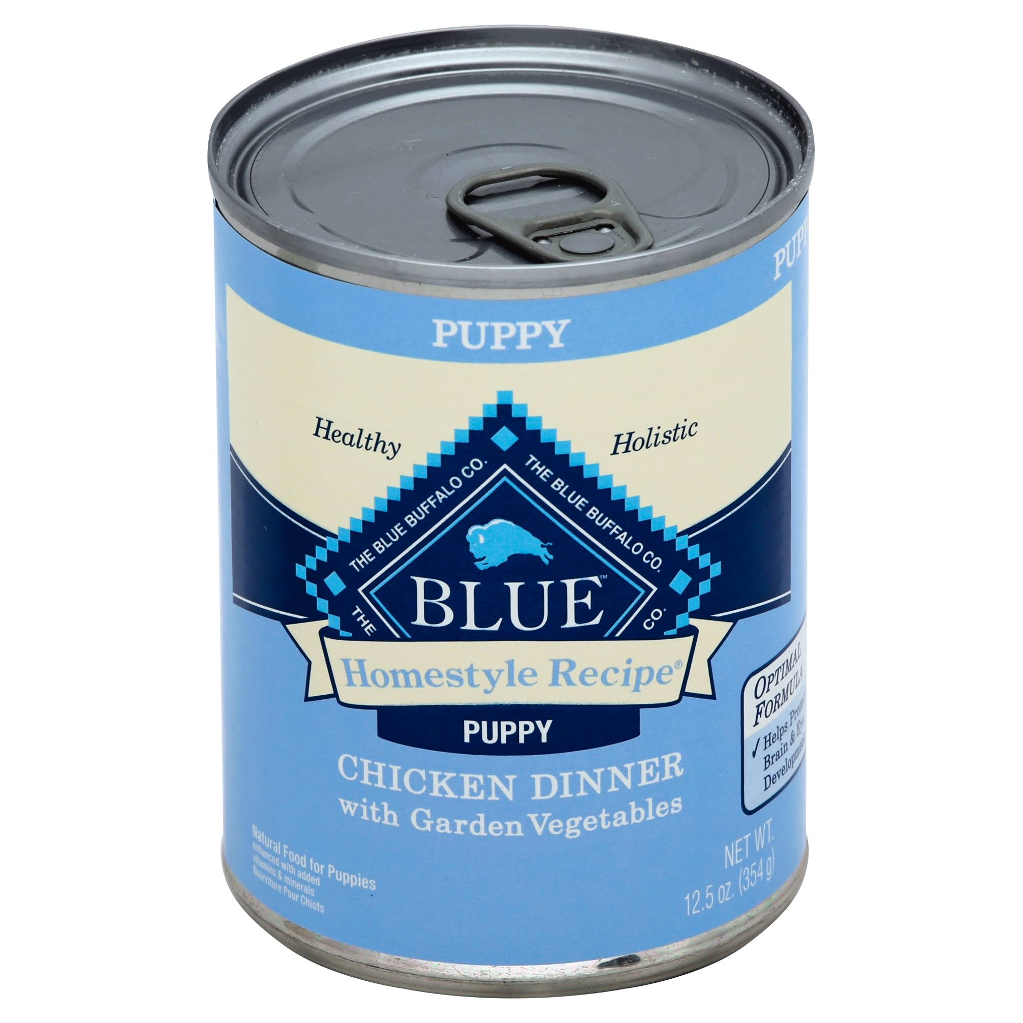 Blue Buffalo Blue Puppy Chicken Dinner - Homestyle Recipe, 12.5oz