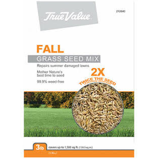 Barenbrug USA True Value Grass Seed - Fall, 3lbs