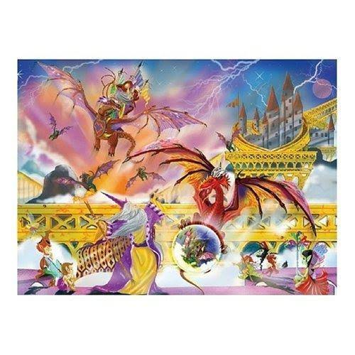 Melissa and Doug Dragon Storm Jigsaw Puzzle - 500pcs