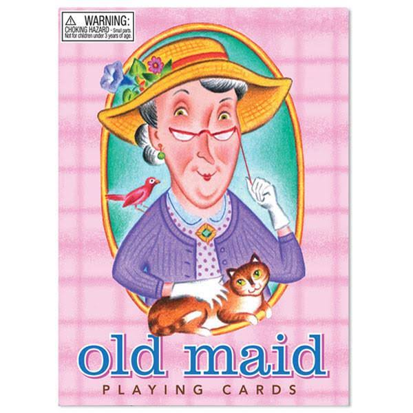 eeBoo Old Maid Playing Card Game - Ages 5