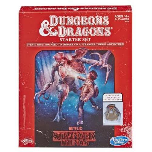 Hasbro Stranger Things Dungeons & Dragons Role Playing Game