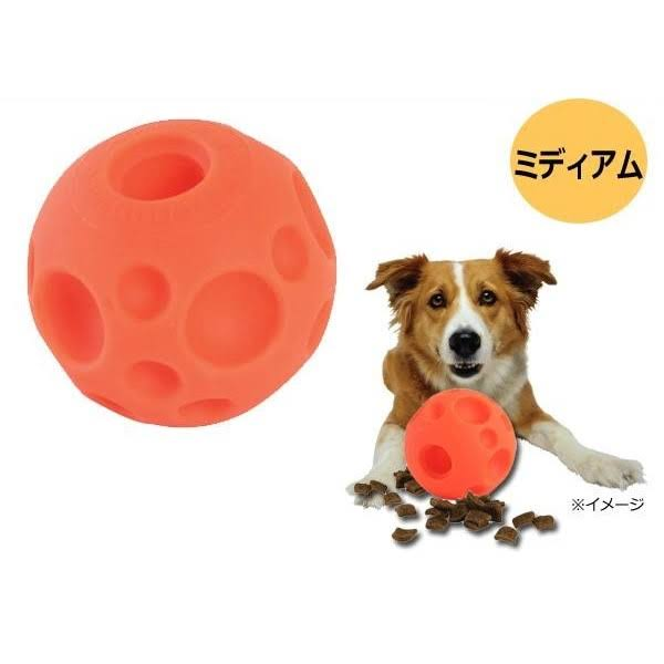 Omega Paw Treat Ball Dog Toy - Orange, 90m