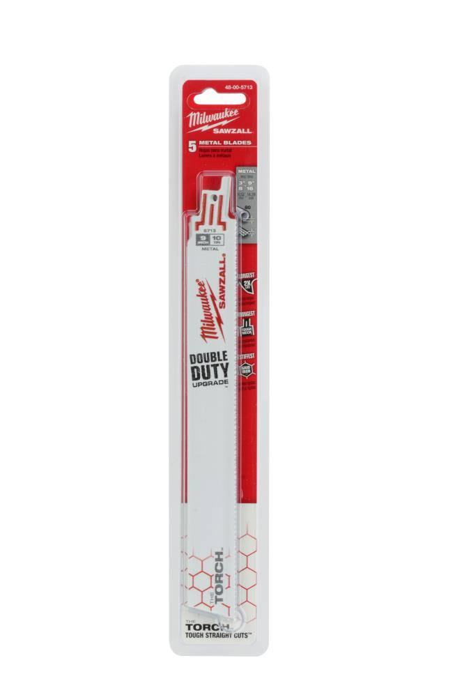 Milwaukee Electric Tools Sawzall Torch Blade - 9in, 10tpi