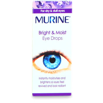 Murine Bright and Moist Eye Drops - 15ml