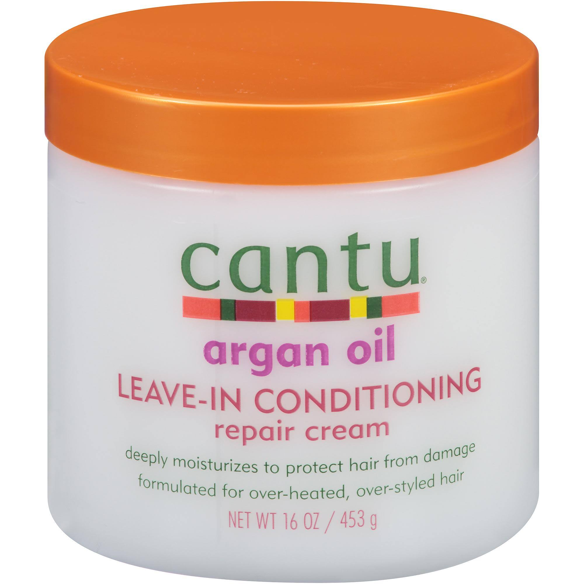 Cantu Argan Oil Leave-In Conditioner Repair Cream - 16oz