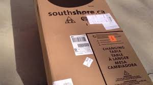 South Shore Libra 3 Drawer Dresser by South Shore Changing Table Unboxing Youtube