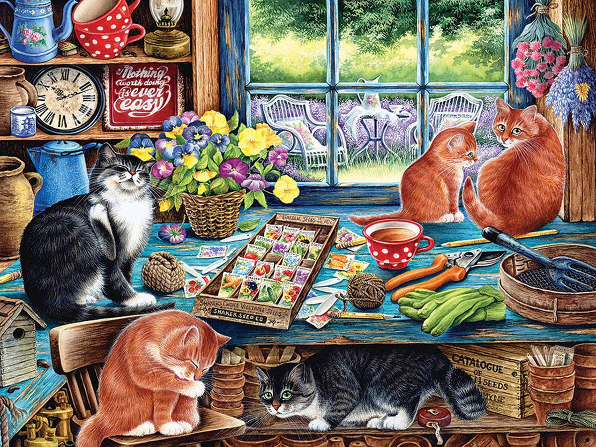 Cobble Hill Cats Retreat 275pc