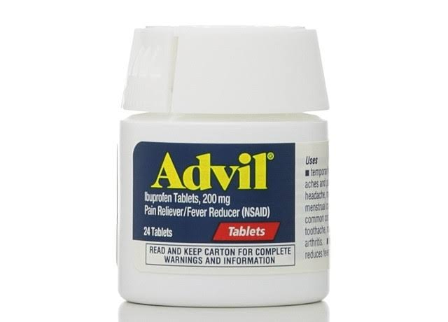 Advil Ibuprofen Pain Reliever Fever Reducer - 200mg, 24ct